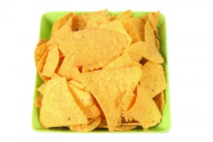 light a fire with corn chips