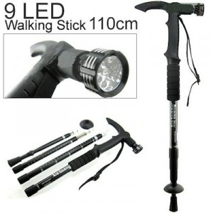 hiking stick with LED