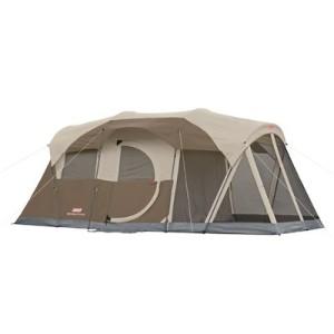 coleman 6 person tent